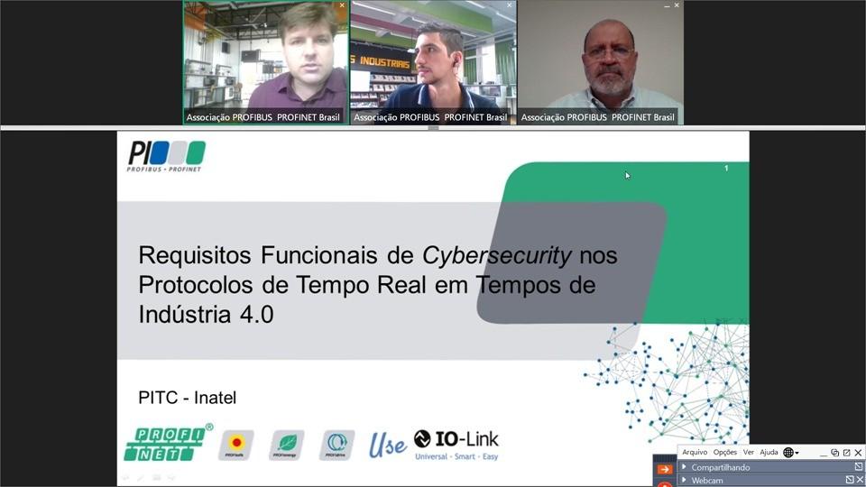 Cybersecurity em tempos de Indústria 4.0 é tema de primeiro webinar do ano