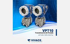 Linha de Transmissores de Pressão de alta performance Vivace