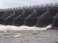 Usina hidrelétrica com tecnologia inteligente de cabeamento mais rápida na rede