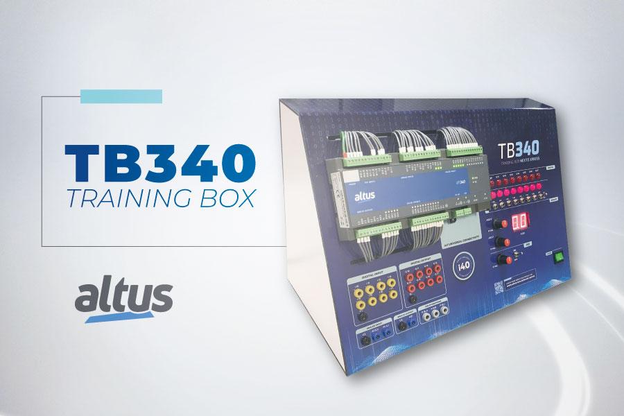 TB340, nova maleta para treinamento e capacitação técnica da Altus