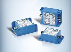 Sensores de inclinação dinâmicos TMS/TMM88 da SICK