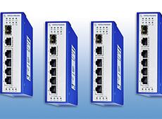 Switch não gerenciável com até 8x portas Gigabit Ethernet PoE/PoE+