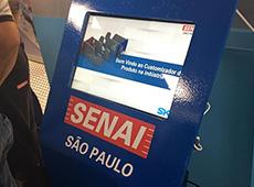 Unidade móvel do Senai leva tecnologia para cidades mais distantes de São Paulo