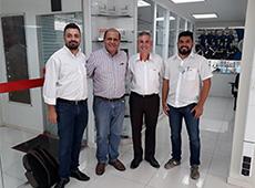 Visitas e treinamentos marcam início das atividades de 2020 da PI Brasil