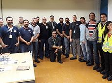 Profissionais da GKN Driveline recebem treinamento sobre PROFINET e IO-LINK