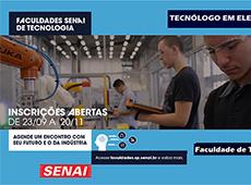 Inscrições Processo Seletivo - Faculdade SENAI Anchieta
